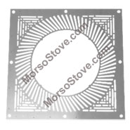 ** Ventilated Firestop Plate (WHITE) Ø 125