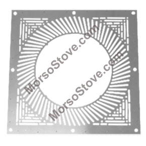 ** Ventilated Firestop Plate (WHITE) Ø 150