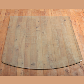 Glass Floor Plate (w) 85cm, (d) 110cm x 12mm thick